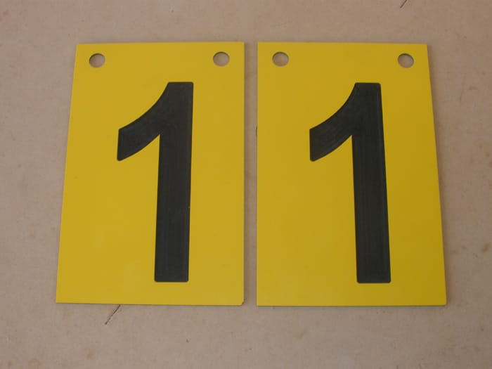 New Score Boards BCJ Plastic Products