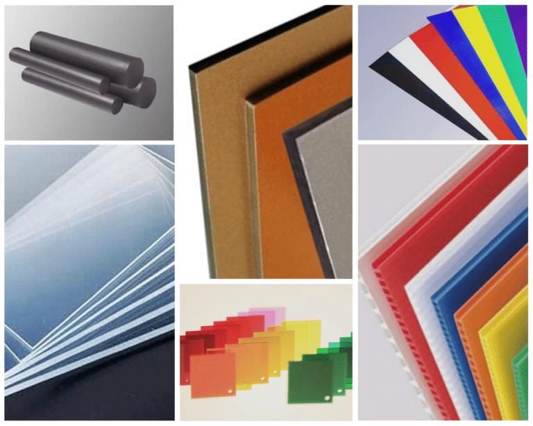 Types of Plastic BCJ Plastic Products