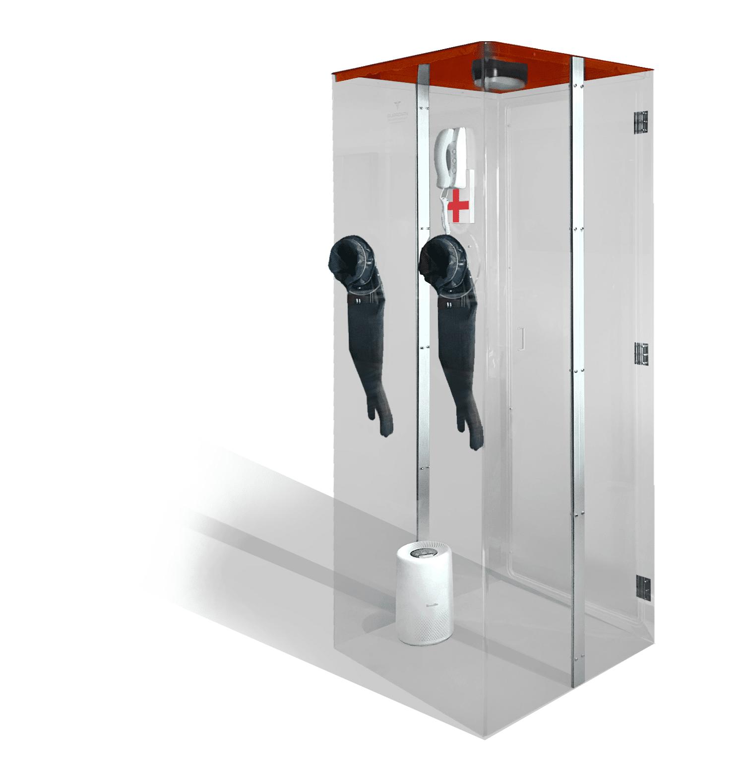 Bio-Safe COVID-19 Testing Module